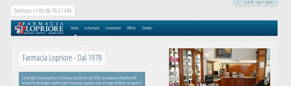Restyling sito web dinamico