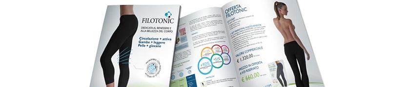 Brochure aziendali e promozione pubblicitaria