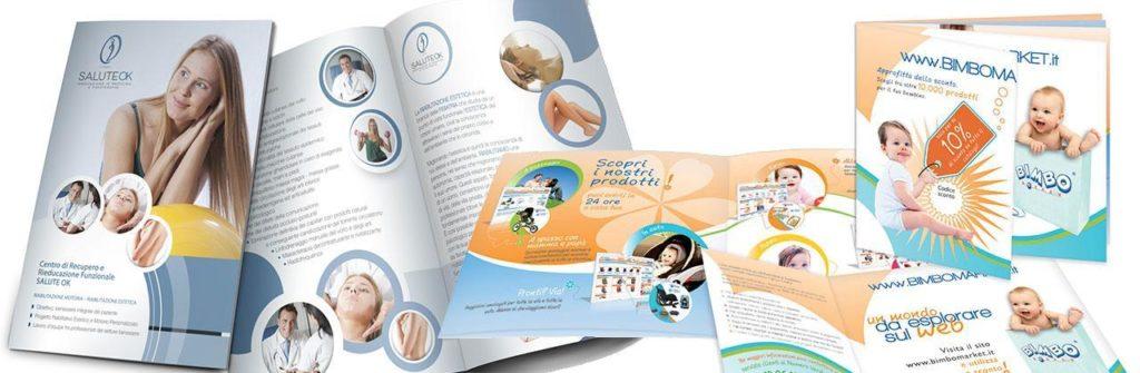 Realizzazione grafica brochure e cartelline aziendali