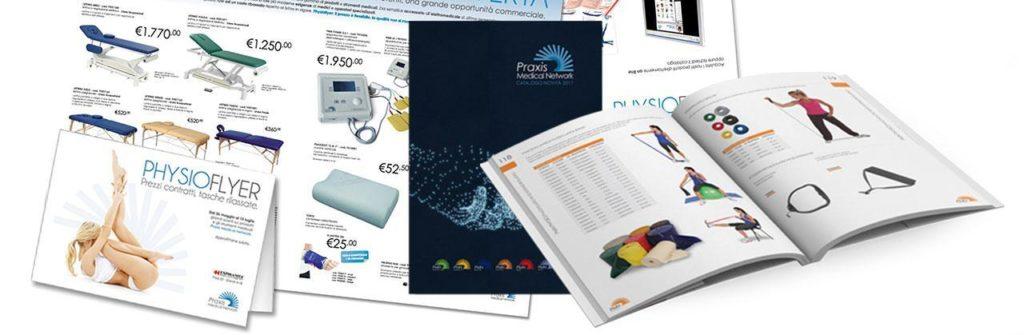 Realizzazione grafica e impaginazione cataloghi cartacei